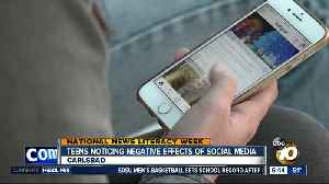 San Diego teens noticing the negative effects of too much social media [Video]