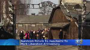 Survivors Return To Auschwitz To Mark 75 Years Since Liberation [Video]