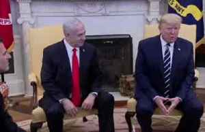 News video: Trump: Palestinians may reject Mideast peace plan, but 'it's something they should want'