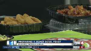 Preparing a Super Bowl Feast with Buffalo Wings & Rings [Video]