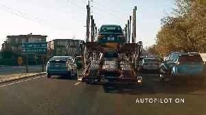 Autopilot Incident in Slow Traffic [Video]