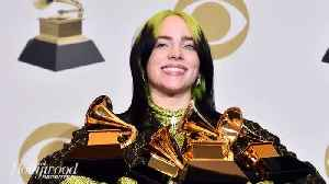 Billie Eilish Wins All 4 Major Categories at 2020 Grammys | THR News [Video]