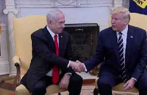 News video: Trump says Palestinians may reject his long-awaited peace plan