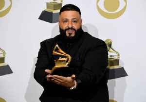 DJ Khaled Reveals Son's Name at Grammys [Video]