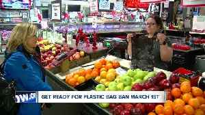 Are you ready for plastic bag ban March 1st? [Video]