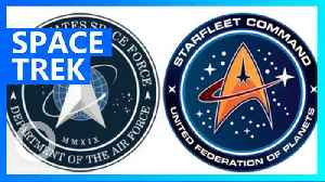 US Space Force logo boldly goes when others have gone before [Video]