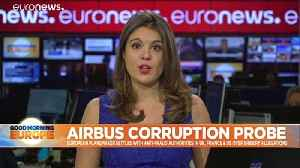 Airbus reaches deal with France, US, UK over 'bribery and corruption' investigation [Video]