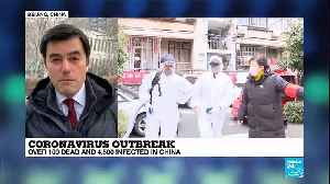 China: More than 100 people confirmed dead as coronavirus spreads [Video]
