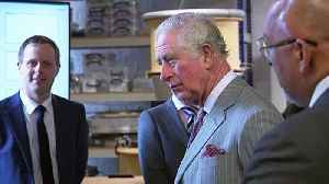 Prince of Wales tours Whittle Laboratory in Cambridge [Video]