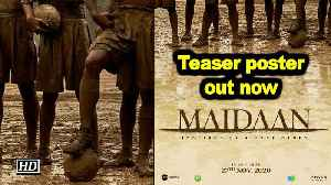 Ajay Devgn starrer 'Maidan' teaser poster out now [Video]