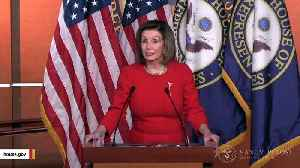 Report: Trump Not Inviting Pelosi To USMCA Agreement [Video]