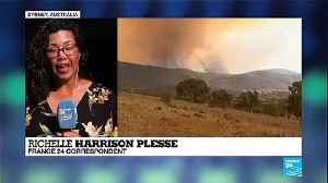 Australia: Canberra faces bushfire threat with soaring temperatures and strong winds [Video]