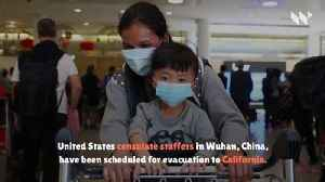 Americans Evacuated From Wuhan as Coronavirus Death Toll Rises [Video]