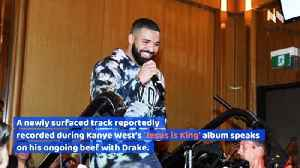 Kanye West Addresses His Issues With Drake in Newly Leaked Song [Video]