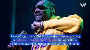 Snoop Dogg Wants to Change NBA Logo to Honor Kobe Bryant [Video]