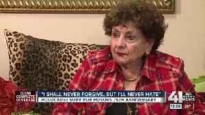 75 years after Auschwitz liberation, Holocaust survivor 'cannot keep quiet' [Video]