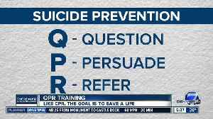 QPR, like CPR, has a goal of saving lives [Video]
