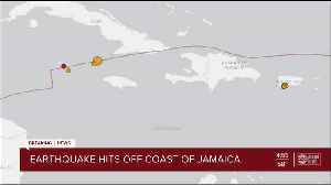 Magnitude 7.7 earthquake hits between Cuba and Jamaica [Video]