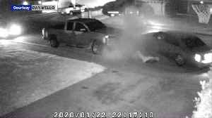Video Shows Man Clinging to Hood of His Car as Teenage Carjacker Drives Away [Video]