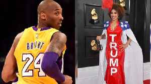 Joy Villa Makes Political Statement at Grammys, Grammys Remember Kobe & More | THR News [Video]