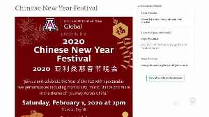 News video: UArizona Global Chinese New Year Festival show canceled due to recent coronavirus concerns