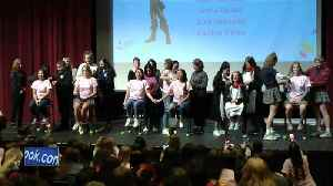 'It's always so worth it:' Nearly 100 DSHA students cut hair for kids in need [Video]