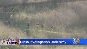 NTSB Begins Investigation, Recovery Effort At Calabasas Crash Site [Video]