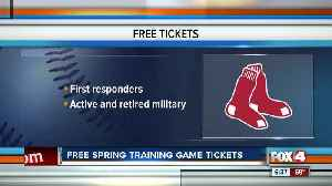 Boston Red Sox offers free tickets to first responders, active and retired military members [Video]