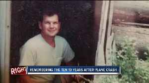 News video: Remembering the ten 19 years after plane crash