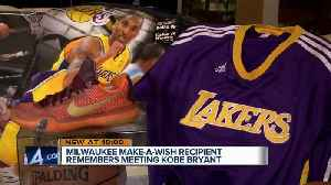 Young Milwaukee man remembers when Kobe Bryant granted his Make-A-Wish [Video]