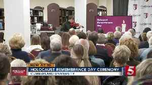 Family of Holocaust survivor speaks at International Holocaust Remembrance Day ceremony [Video]