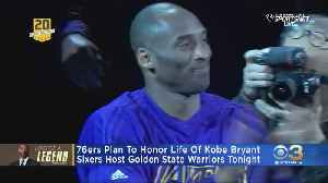 Sixers To Pay Special Tribute To Local Legend Kobe Bryant During Tuesday Night Game [Video]
