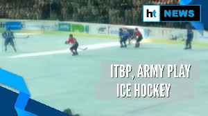 Watch: ITBP, Indian Army in ice hockey championship final match in Ladakh [Video]