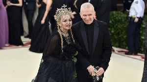 Madonna honours Jean-Paul Gaultier with online tribute [Video]