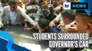 Calcutta University's protesting students force Governor to skip convocation [Video]