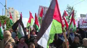 Palestinians in the Gaza Strip protest against Trump's 'deal of the century' [Video]