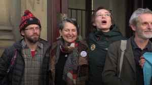 News video: Trial of Extinction Rebellion protesters collapses after 'abject failure' by CPS