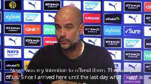 Pep Guardiola clarifies comments about empty seats during Fulham FA cup clash