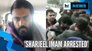JNU student Sharjeel Imam arrested; Amit Shah slams his controversial speech [Video]