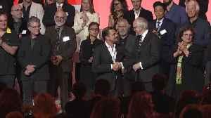 2020 Oscar Nominees Class Photo [Video]