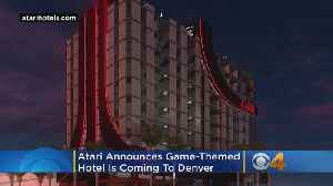 Atari Announces Game-Themed Hotel Coming To Denver [Video]