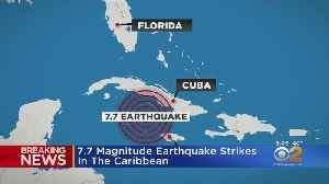 News video: 7.7 Magnitude Earthquake Strikes In The Caribbean