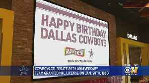 Cowboys Celebrate 60 Years As NFL Franchise [Video]