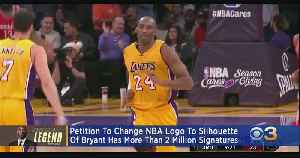 Petition Calls NBA To Change Logo To Silhouette Of Kobe Bryant [Video]