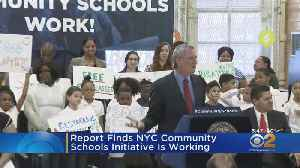 Report Finds NYC Community Schools Initiative Is Working [Video]