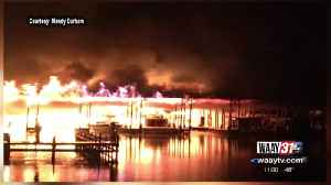 8 people killed, 35 boats destroyed in fire at Scottsboro boat dock [Video]