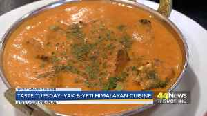 Taste Tuesday: Yak & Yeti Himalayan Cuisine [Video]