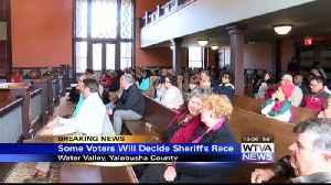 Judge orders some voters to settle Yalobusha County sheriff's race [Video]