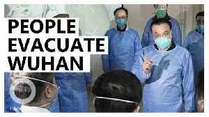 News video: Japan and U.S. evacuate citizens in Wuhan amid virus outbreak