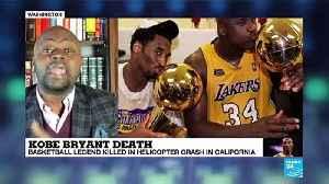 Kobe Bryant death: basketball legend killed in helicopter crash [Video]